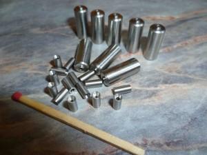 Edelstahldrehteile für Glasfaserkabel